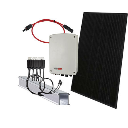 zonnepanelen doe het zelf pakket